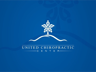 Logo design for United Chiropractic Center typography vector branding logo design design brand abstract united chiropractor chiropractic logo