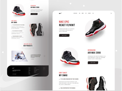 Nike landing exploration first shoot product branding branding dribbble best shot minimal design minimal user interface design uxuidesign freelancer product desing webdesing creative works typogaphy website creative work landingpage nike shoes 2020 dribbble first shot web desing