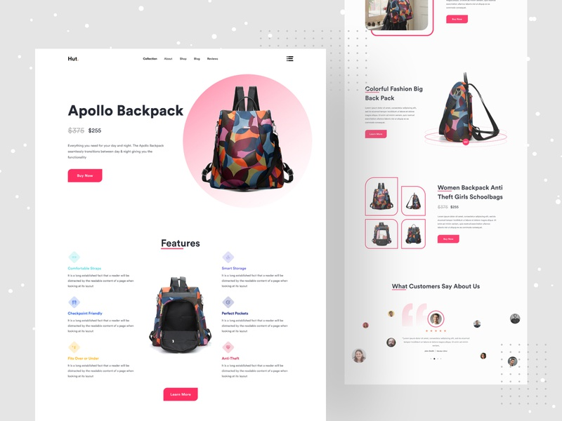 Product Landing Page Explore minimal work minimal website web  design best shot website design best product landing creative design best landing page design best website minimalist webdesign product design website uiux uidesign typogaphy product branding minimal design branding