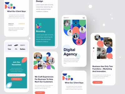 Creative Agency Responsive Website Design website web site design uiux user interface user experience mobile uiux responsive design mobile website mobile ui mobile screen mobile responsive landing page hiring interface graphic designing design system design studio design company website adaptive design 2020 trend