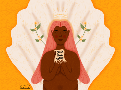 Black lives matter positivity black lives matter procreate illustration digital illustration digital art