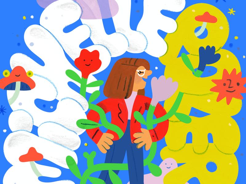Michell Poler on Creative Pep Talk podcast art art woman creativity creative career podcast design lettering illustration creative pep talk