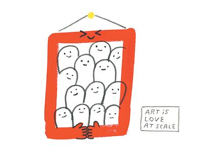 Art is Love conceptual illustration creativity creative career podcast illustration creative pep talk