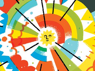 150 - The Marketing Method that I Built My Career On marketing creative career rainbow color burst sun shine
