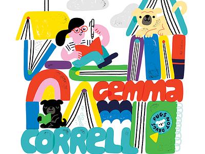 Creative Pep Talk Ep. 172 - Gemma Correll illustration creative pep talk pugs dogs gemma correll