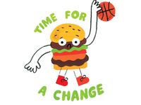 Athletic Cheeseburger