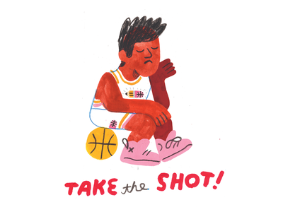 THE MOST IMPORTANT CREATIVE CAREER TACTIC basketball creative career podcast lettering design illustration creative pep talk