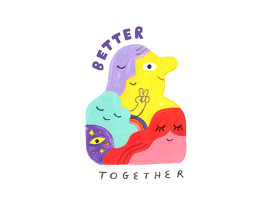 Stop. Collaborate. AND LISTEN... TO THIS PODCAST! creativity creative career podcast design lettering illustration creative pep talk
