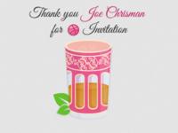 Thanks Joe Chrisman