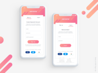 Daily UI#001 Sign Up