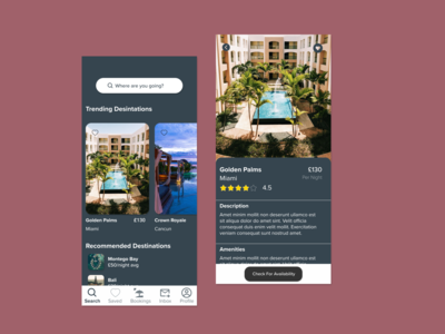 Daily UI 067 - Hotel Booking daily ui 067 figma daily ui challenge daily ui daily 100 challenge dailyui ux ui dailyuichallenge