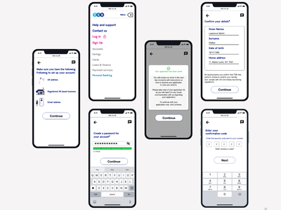 TSB Mobile layout mobile banking app mobile bank bank app banking bank mobile app mobile banking