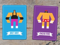 Wrestlers Cards