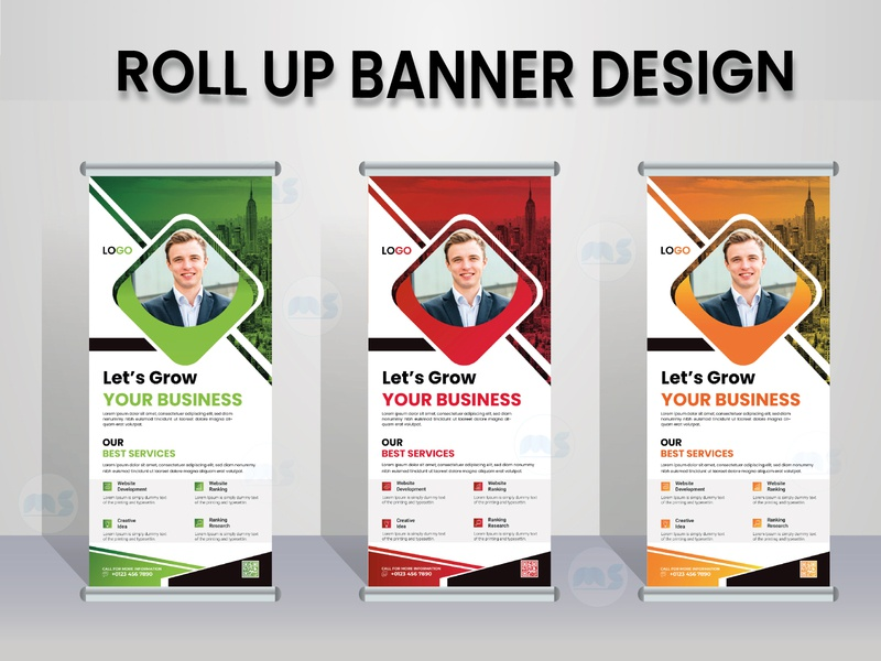 Roll Up Banner Design youtube green design redesign concept social media design facebook cover design banner design banner ads banner roll up banner design roll up banner creative design unique design creative flyer modern stylish minimal illustrator vector design branding