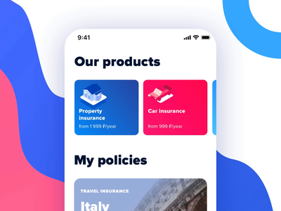 Product Stories – Insurance App