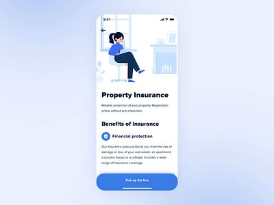 Chat Bot – Insurance App illustration design ordering order chatbot chat principle ixd interaction insurance app insurance app ux ui interface animation