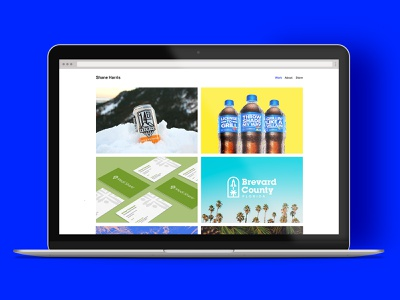 New Year. New Site. design texture case study idenity packaging web design website branding icon badge logo illustration shane harris