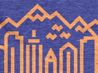Denver Skyline Tee