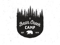 Bear Creek Camp Badge