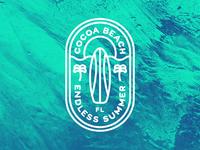 Cocoa Beach Badge