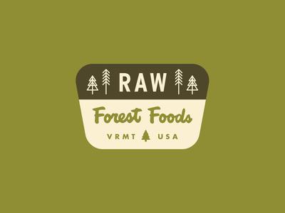 Raw Forest Foods Sticker 1.2