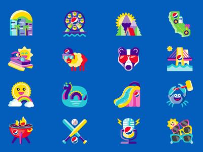 Summer Icons: Set 1