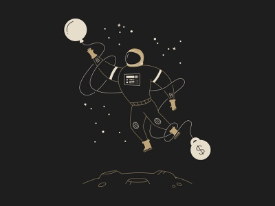 Permanent Records album art tattoo art tattoo shane harris money stars astronaut twenty one pilots vector space permanent records illustration