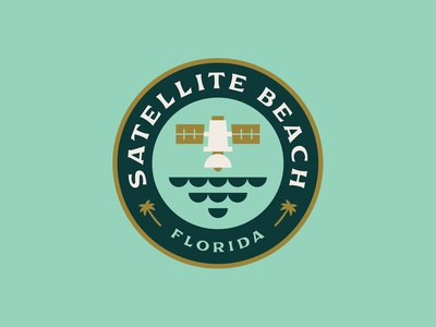 Satellite Beach Badge