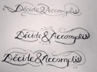Decide & Made