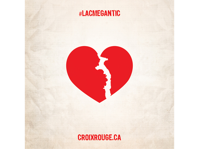 Lac-Mégantic red cross charity heart broken