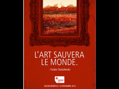«L'Art sauvera le monde»
