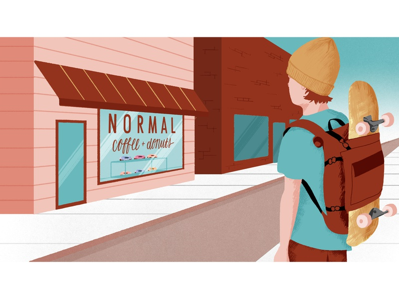 Normal Coffee Illustrated Frames for Motion (Version 1) motiongraphic motion graphics design mograph motiongraphics motion illustration schoolofmotion illustrationformotion
