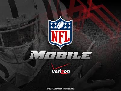 NFL Mobile App Tablet - Launch
