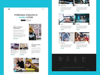 Institut des Arts de Diffusion school design web webdesign