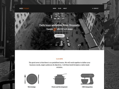 Webstoemp Homepage web design websdesign jekyll