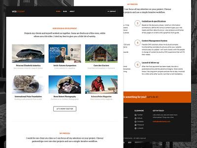 Webstoemp Work web design webdesign jekyll