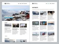 Polar Foundation: tweaked typography