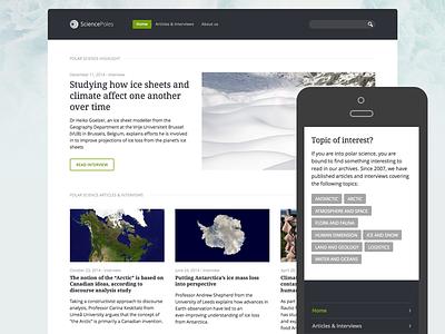 Sciencepoles Category System responsive science antarctica longform