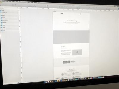 Equal Hifi Wireframes webdesign web design wireframes