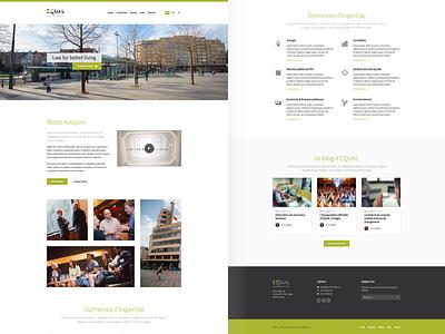 Equal Home webdesign design web