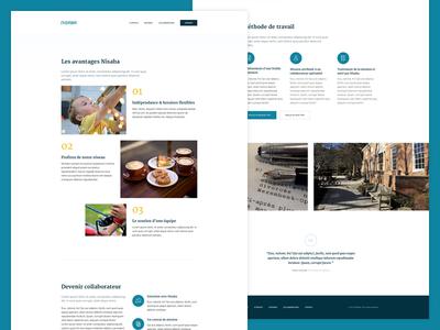 Nisaba more webdesign web design