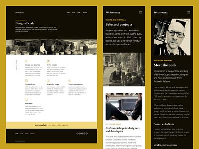 Webstoemp V2 eleventy design web webdesign