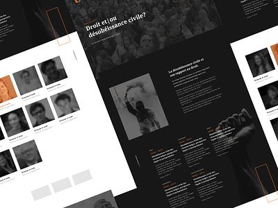 Equal Day 2019 website responsive design web webdesign