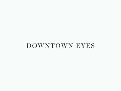 Uber minimal serif concept eyewear glasses simple optical minimal brand logo serif