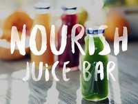 Nourish Juice Bar Logo Concept
