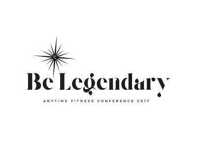 Be Legendary Logo Concept brand identity conference logo logo concept concept