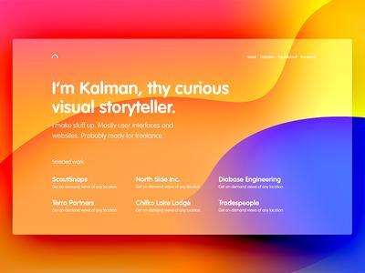 Portfolio v3 color vivid magyari kalman modes blending layers play