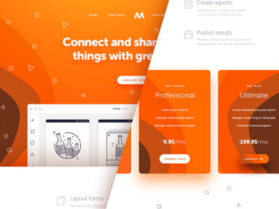 M Connect and share v1.1 norde magyari kalman orange features plans pricing download psd free page landing
