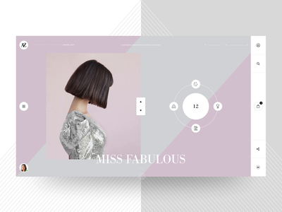 AZ – E-Commerce e-commerce webdesign bodoni fashion ux ui typography motion minimal layout interface interaction clean animation