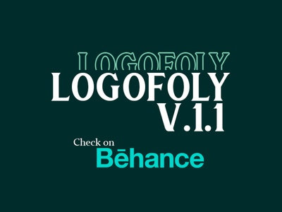 Logofoly V.1.1 logodesign branding creative design typography custom logo modern logo logo